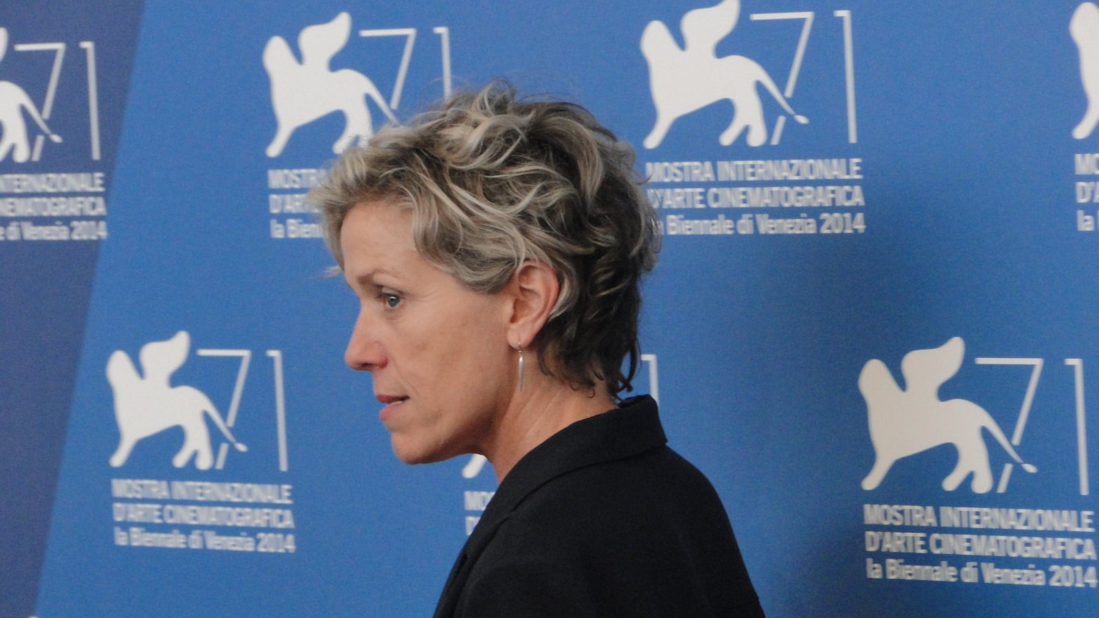 Olive Kitteridge: Frances McDormand al photocall di Venezia 2014