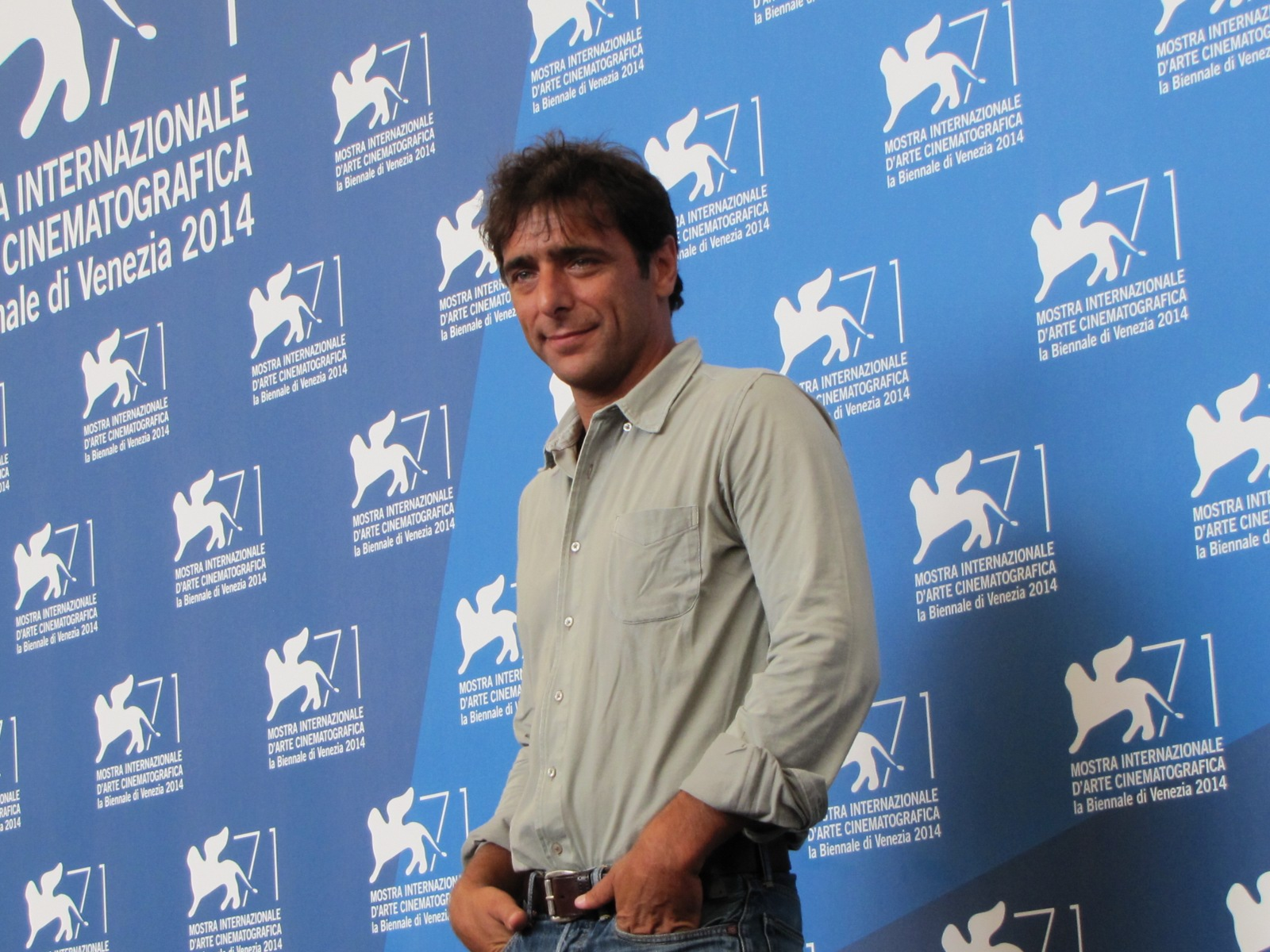 Senza nessuna pietà a Venezia 2014 - Adriano Giannini presenta il film