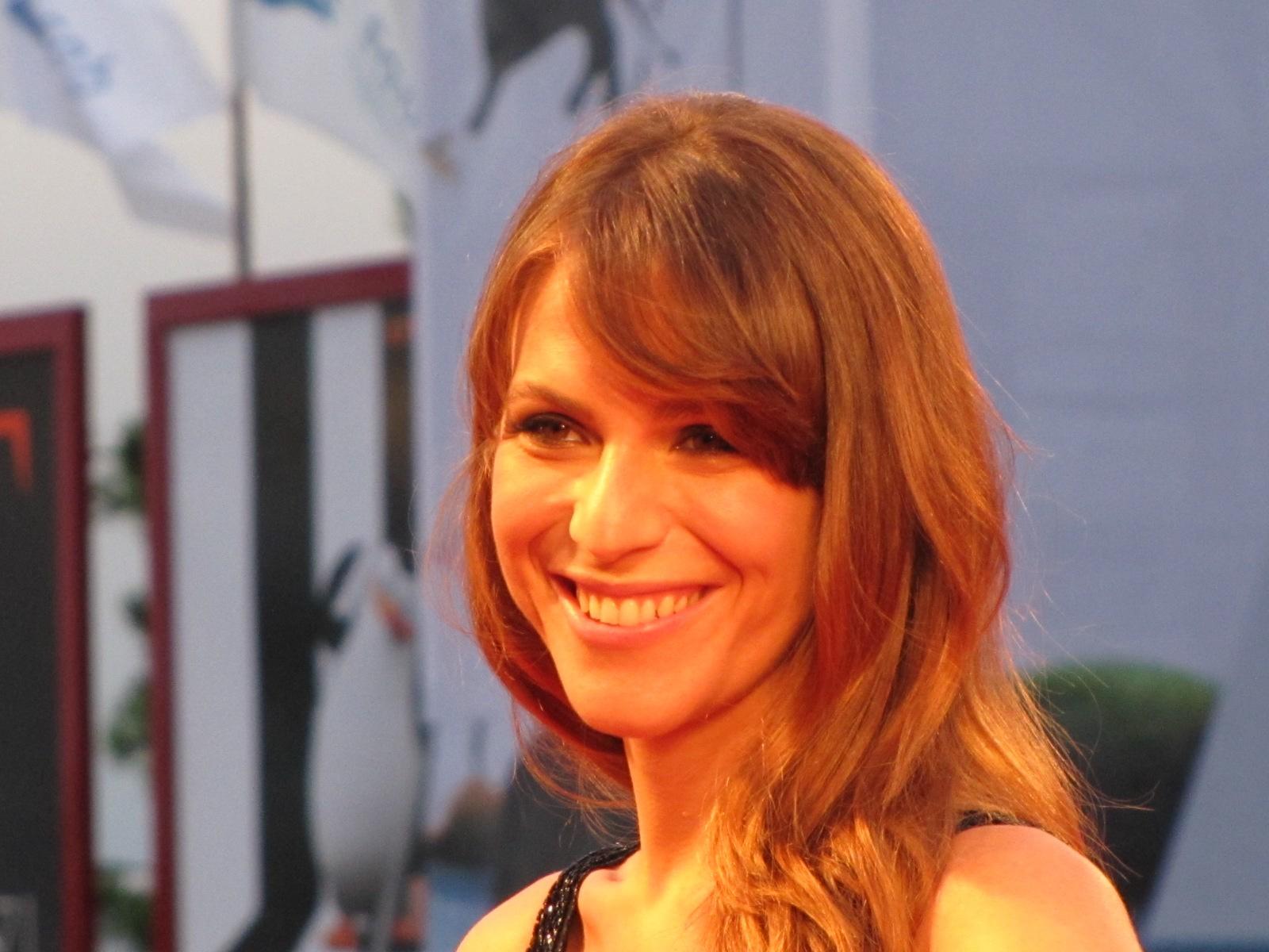 Isabella Ragonese a Venezia 2014, sul tappeto rosso
