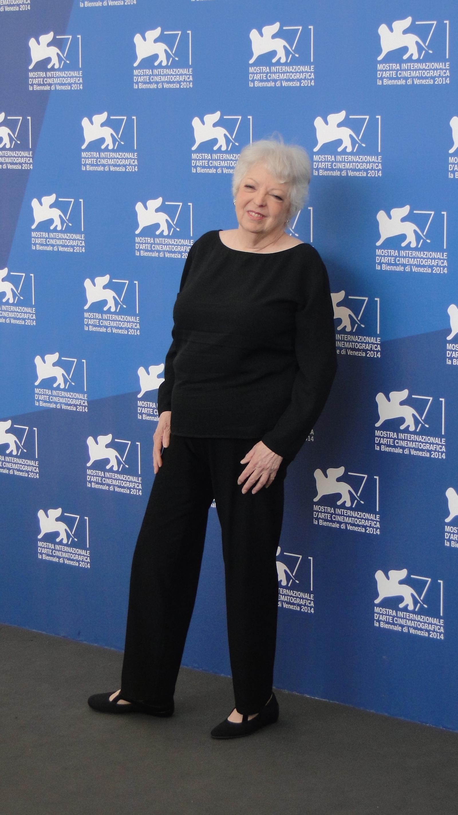 Venezia 2014: Thelma Schoonmaker posa al photocall