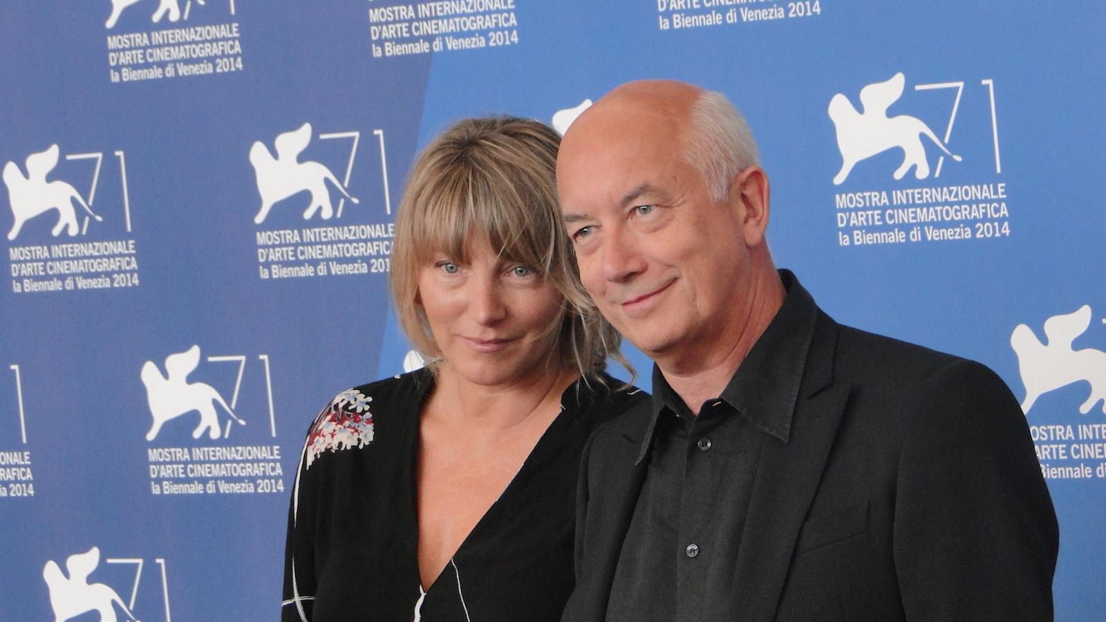 Venezia 2014: uno scatto con Davide Ferrario al photocall de La zuppa del demonio