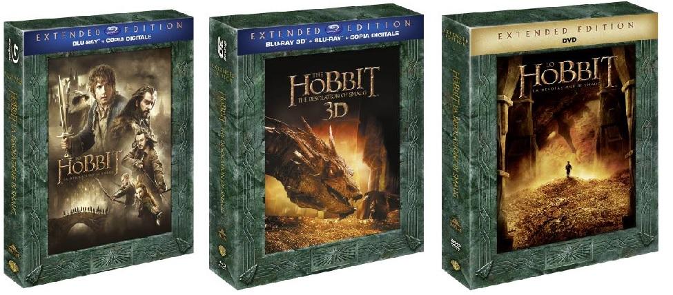 Le cover di Lo Hobbit: la desolazione di Smaug - Extended Edition