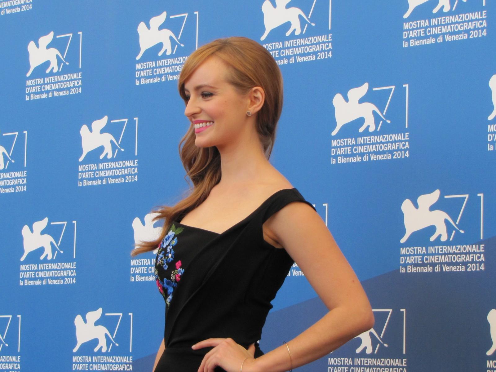 l'attrice Ahna O'Reilly presenta L'urlo e il furore a Venezia 2014