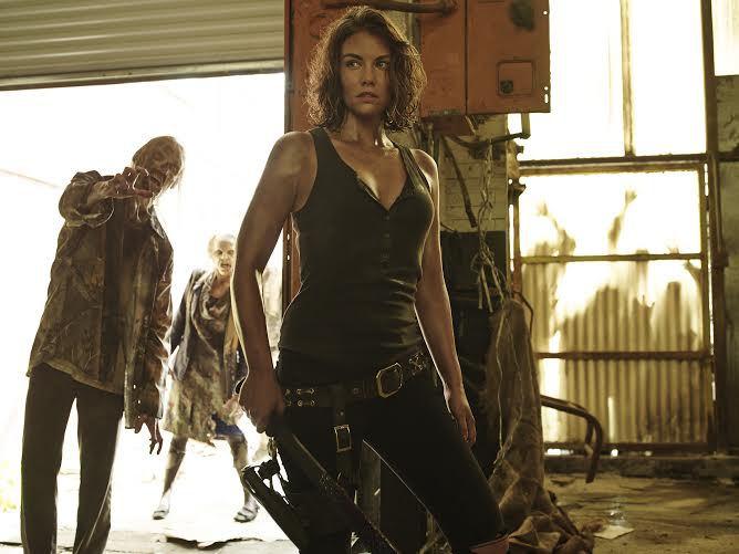 The Walking Dead: Lauren Cohan in una delle prime immagini della quinta stagione