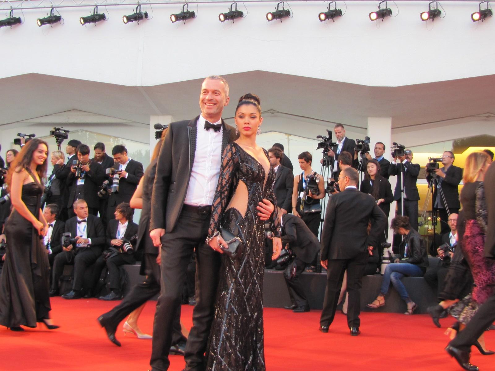 Venezia 2014 una immagine dal tappeto rosso della serata finale