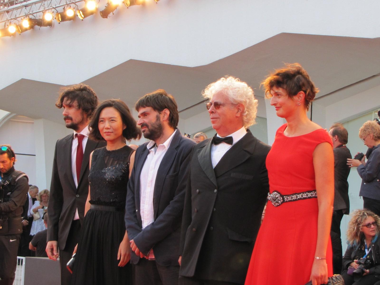 Venezia 2014 - una foto dal tappeto rosso della serata finale