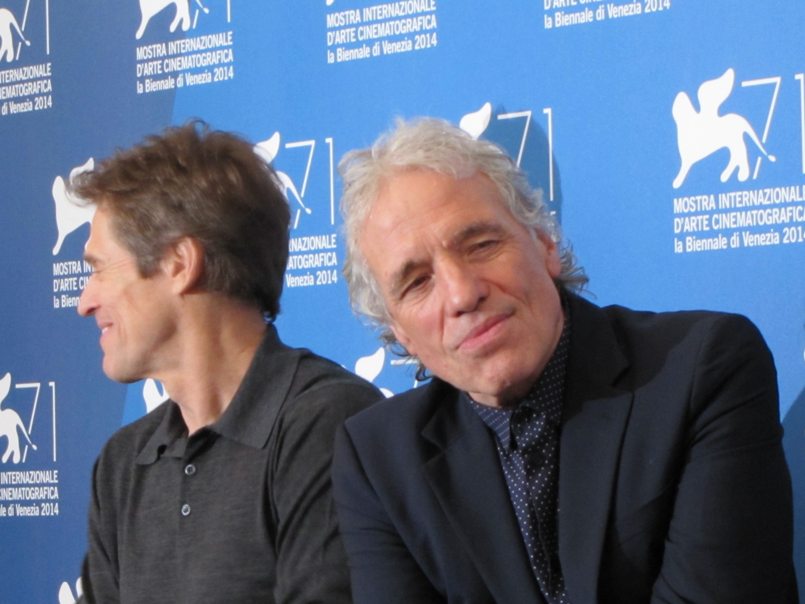 'Pasolini' a Venezia 2014 - Abel Ferrara accanto a Dafoe