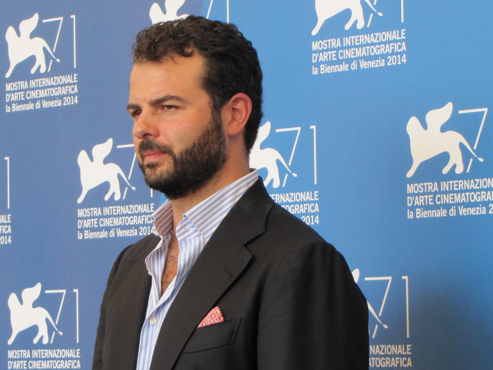 'Perez' a Venezia 2014 - il regista Edoardo De Angelis