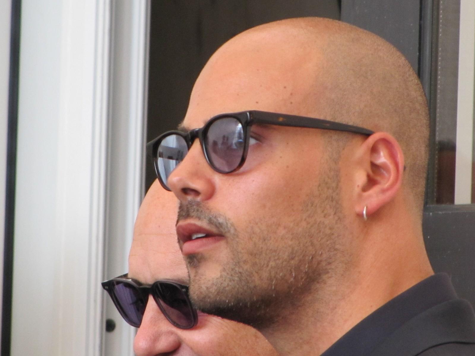 'Perez' a Venezia 2014 - Marco D'Amore prima del photocall