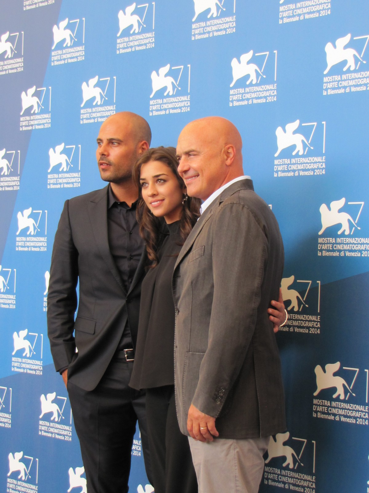 'Perez' a Venezia 2014 - tre protagonisti del film