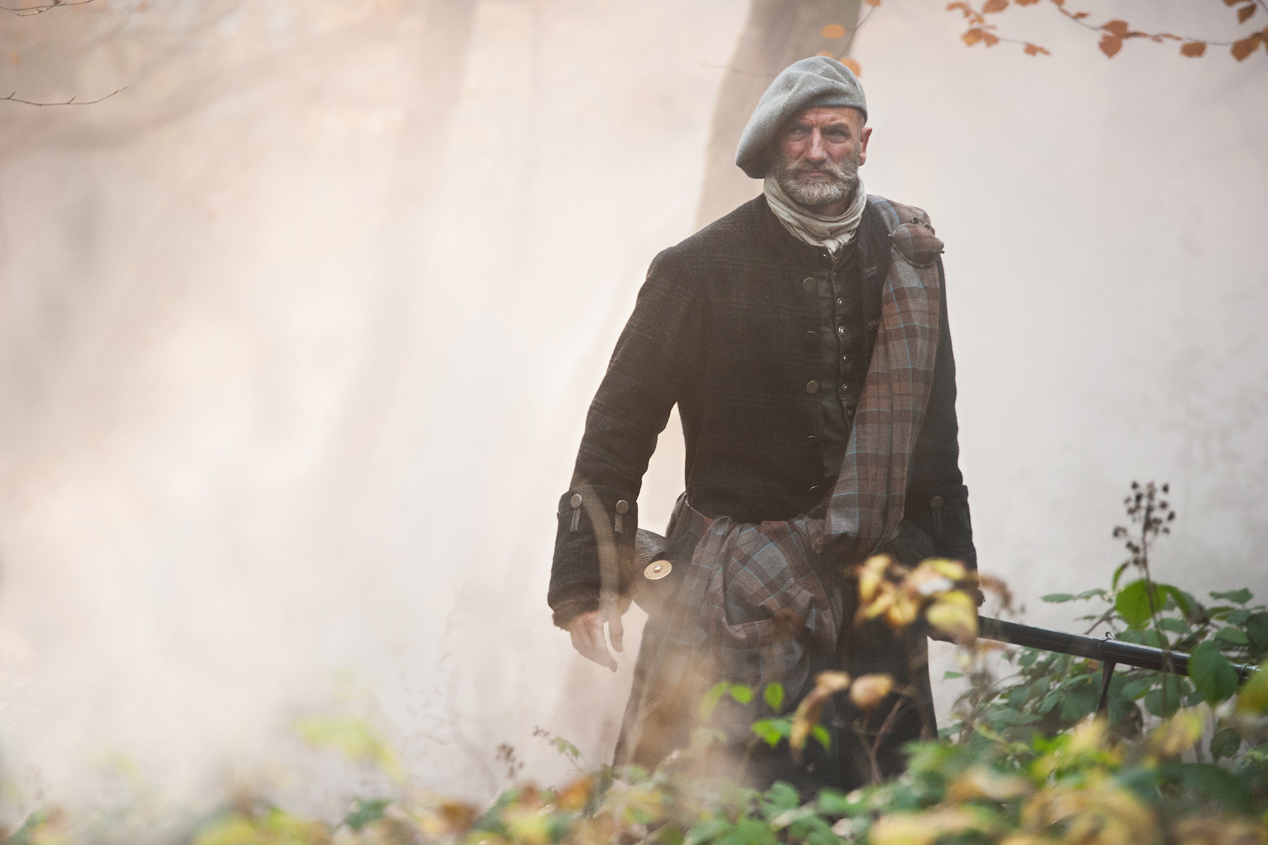 Outlander: Graham McTavish nell'episodio The Gathering