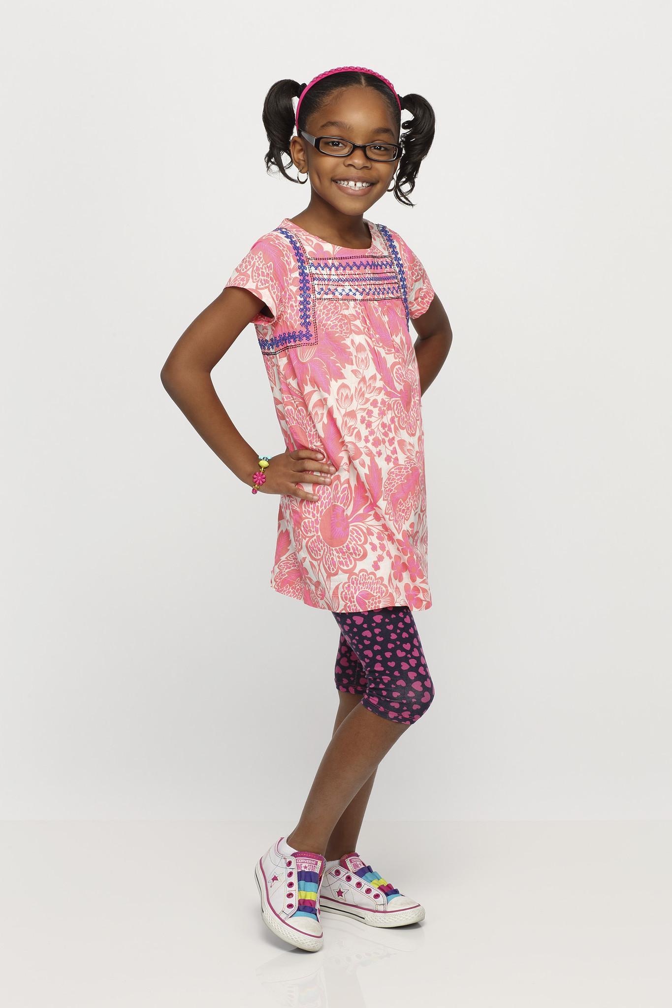 Black-ish: Marsai Martin in un'immagine promozionale della serie
