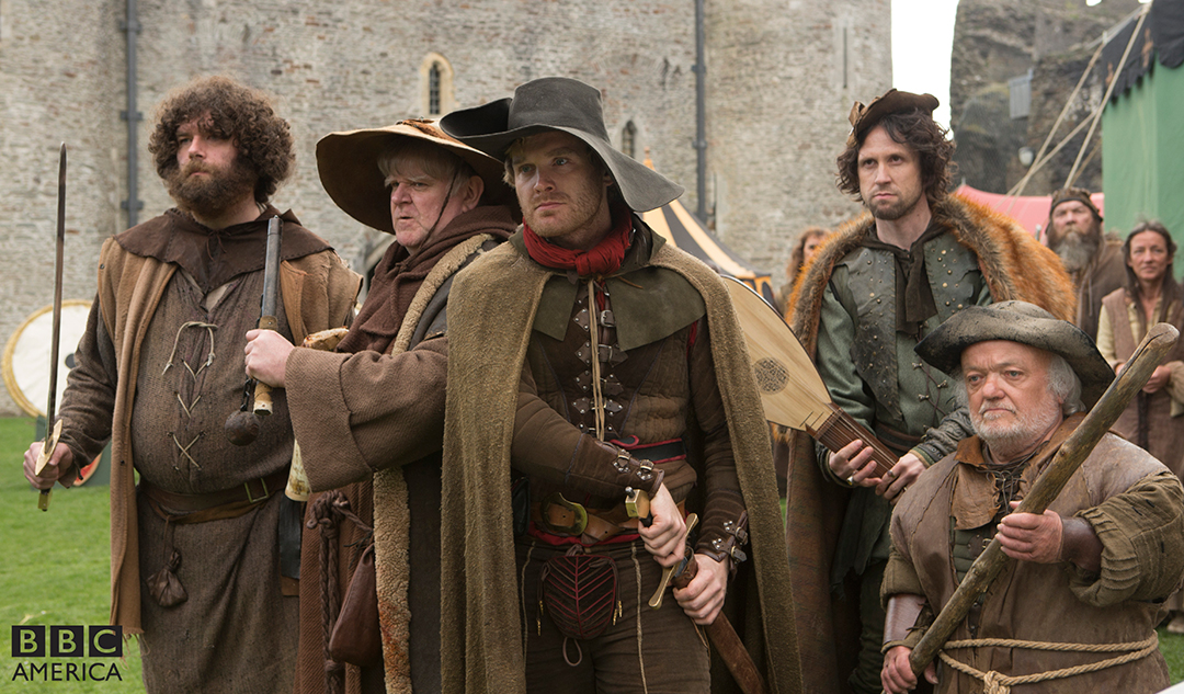 Doctor Who: un momento dell'episodio Robot of Sherwood