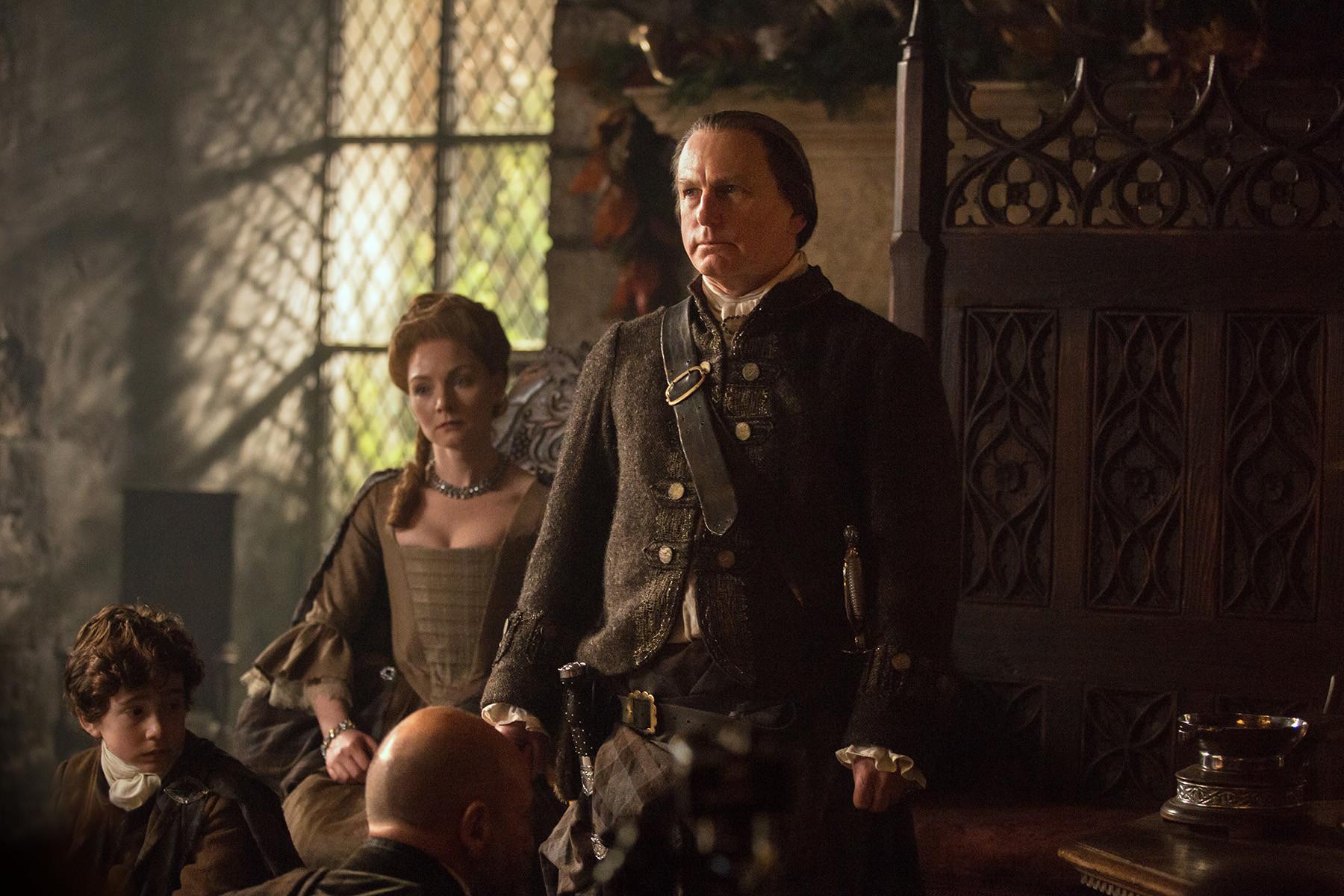 Outlander: una squenza dell'episodio The Gathering
