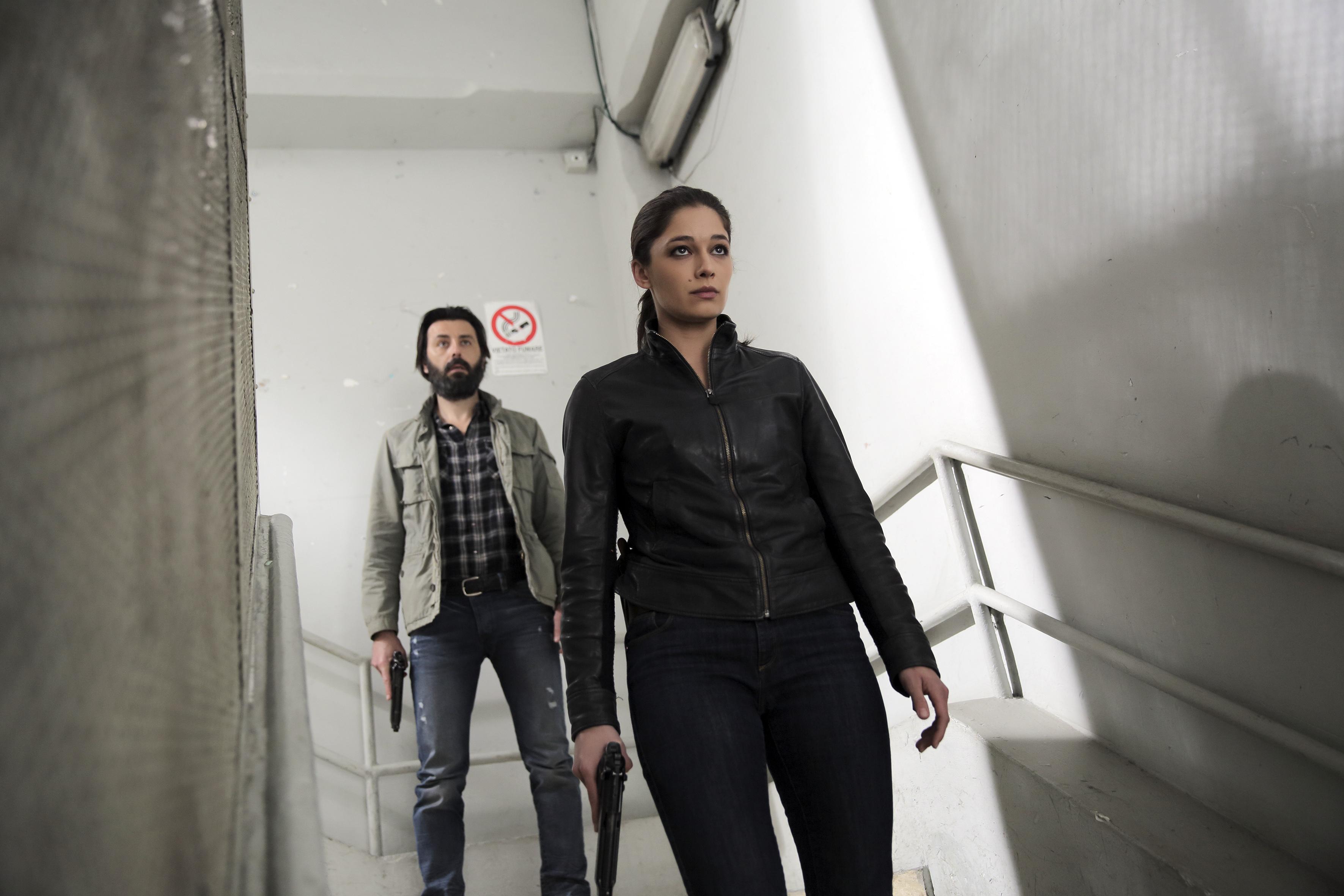 Squadra antimafia: un'immagine della sesta stagione della serie