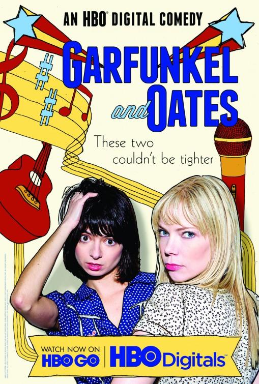 Garfunkel and Oates: Kate Micucci e Riki Lindhome nel poster della prima stagione