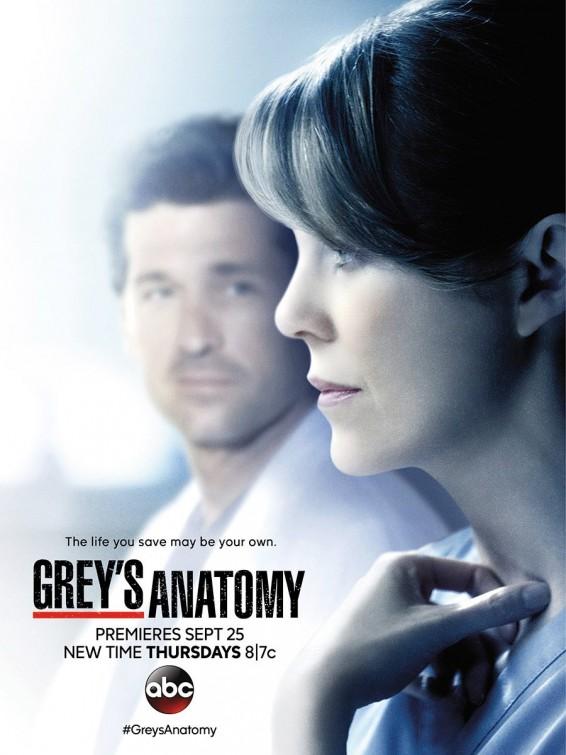 Grey's Anatomy: una locandina per la undicesima stagione della serie