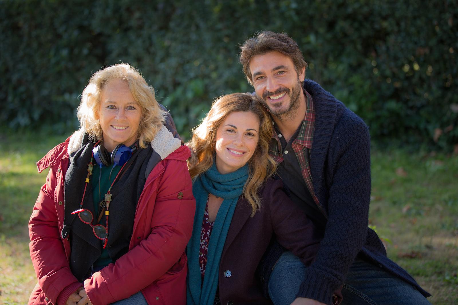 Un'altra vita: Cinzia Th. Torrini, Vanessa Incontrada e Daniele Liotti sul set della fiction