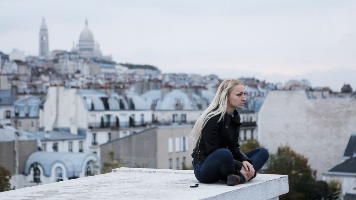 Everyday Rebellion: una rappresentante del movimento Femen in una scena del documentario
