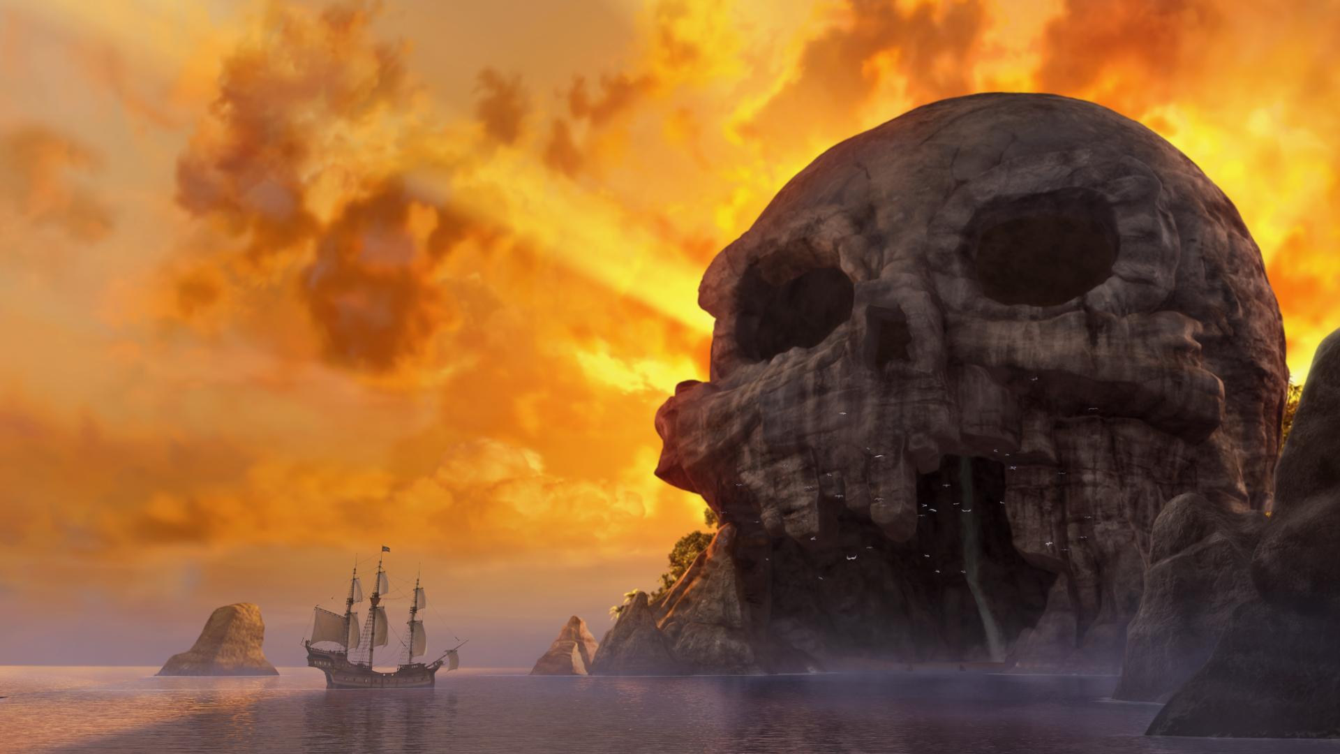 Trilli e la nave pirata: una scena suggestiva del film