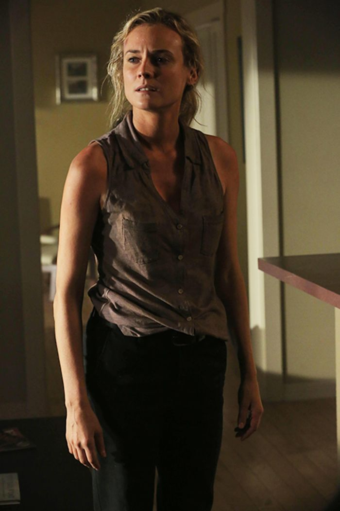 The Bridge: Diane Kruger in un momento deell'episodio Rakshasa