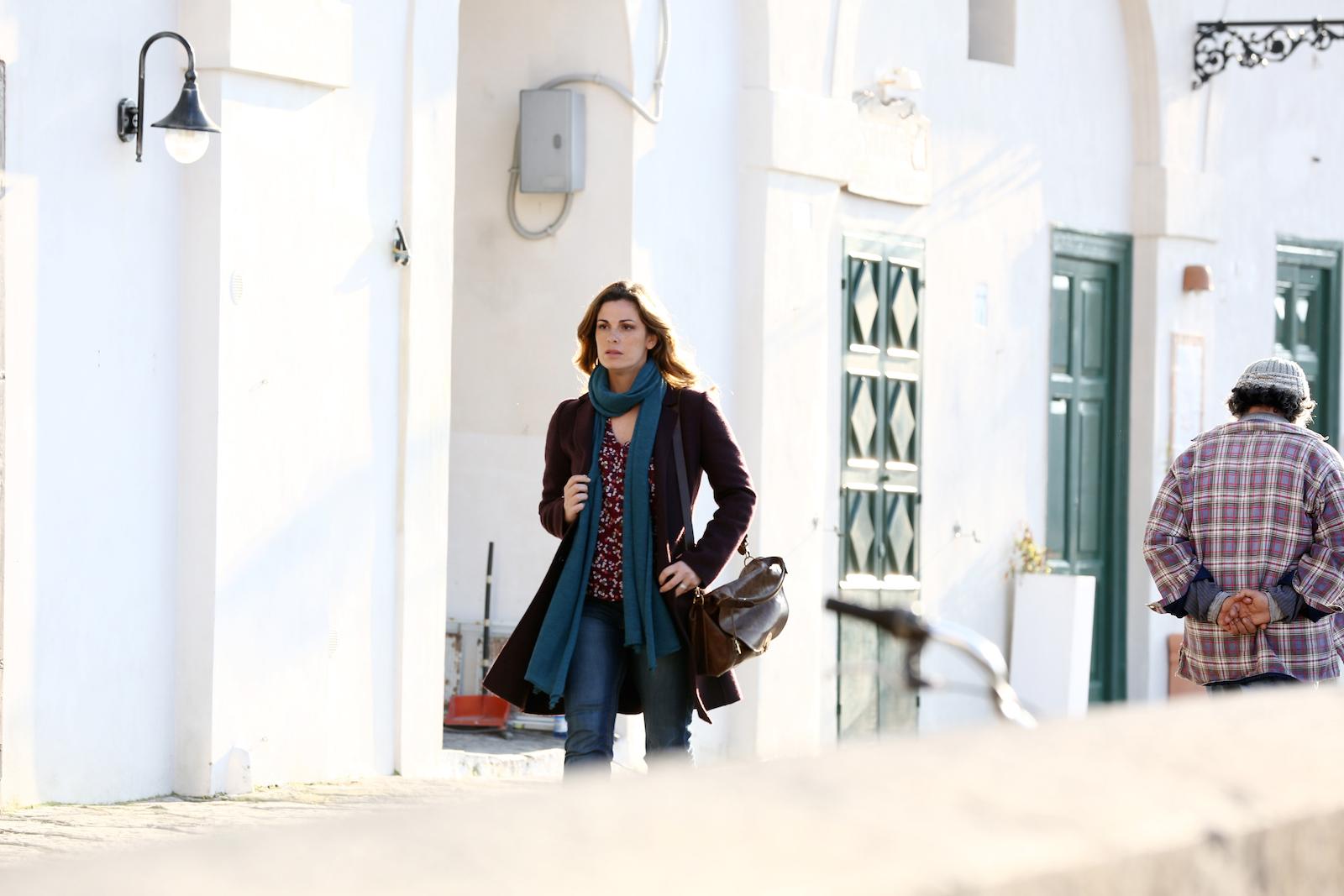 Un'altra vita: Vanessa Incontrada in una scena della fiction Rai