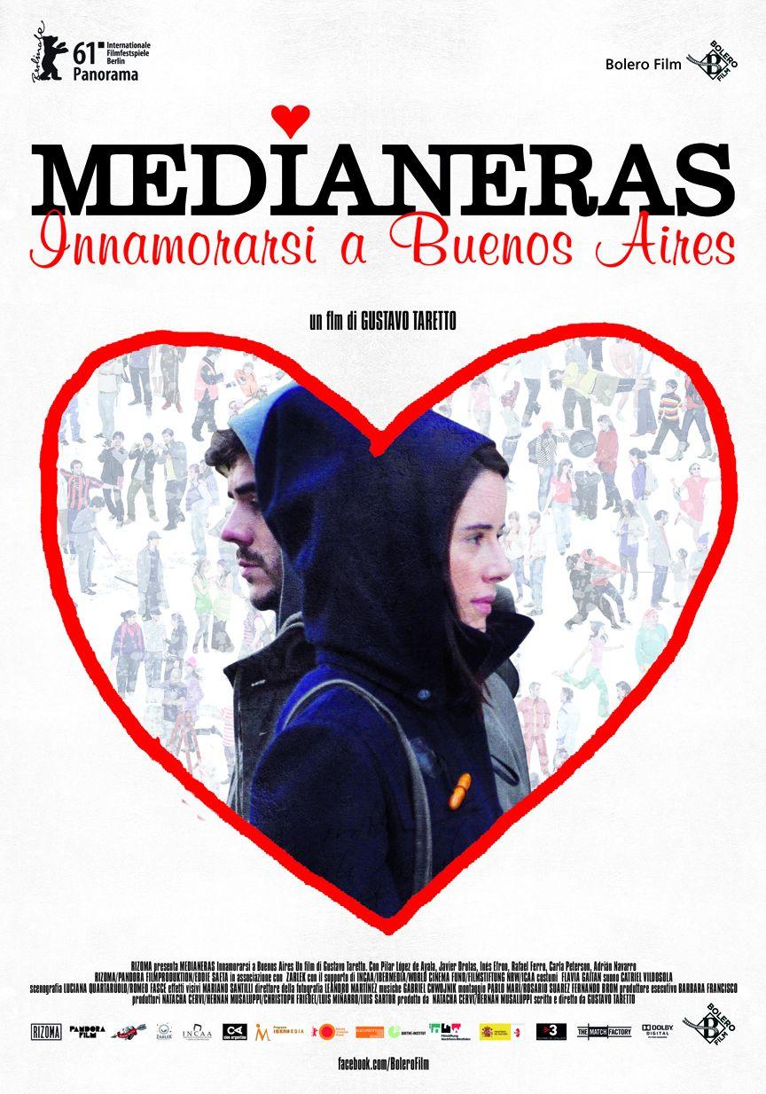 Locandina italiana di Medianeras - Innamorarsi a Buenos Aires
