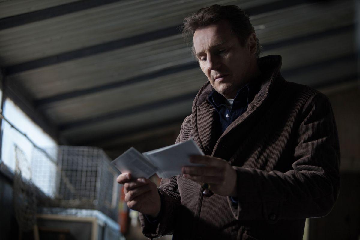 La preda perfetta: Liam Neeson nei panni di un investigatore privato in una scena del film