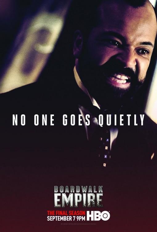 Boardwalk Empire - L'Impero del crimine, una locandina per la quinta stagione