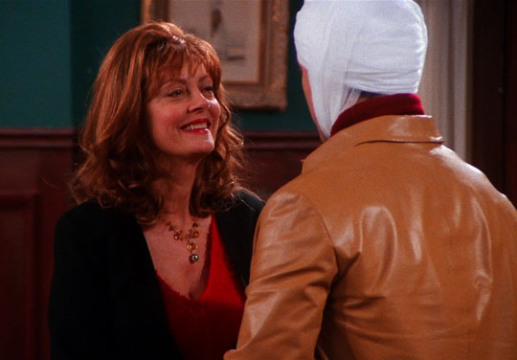 Friends: Susan Sarandon guest star nell'episodio Il cervello nuovo