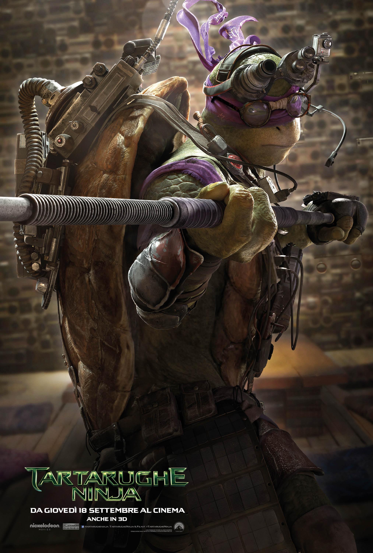 Tartarughe Ninja: il character poster italiano di Donatello