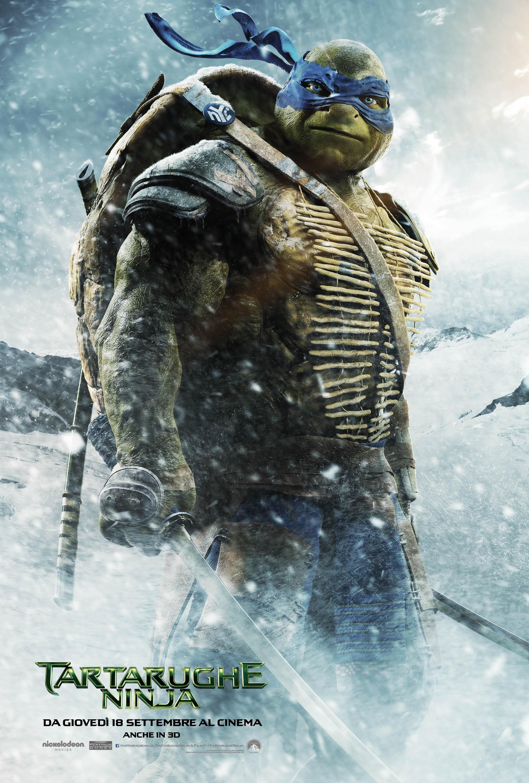 Tartarughe Ninja: il character poster italiano di Leonardo