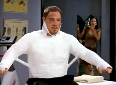 Friends: Jon Favreau nell'episodio L'allievo e l'insegnante