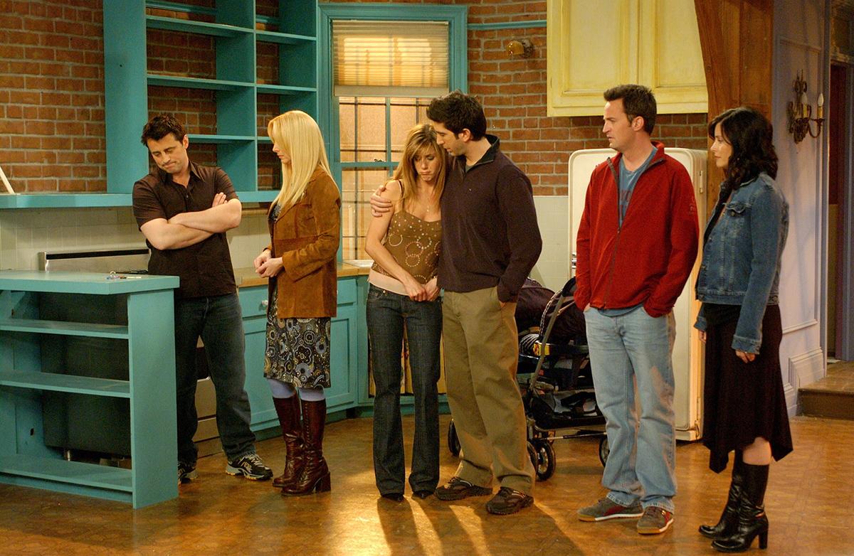 Friends: il cast nell'ultimo episodio