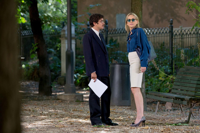 Un ragazzo d'oro: Sharon Stone con Riccardo Scamarcio in una scena