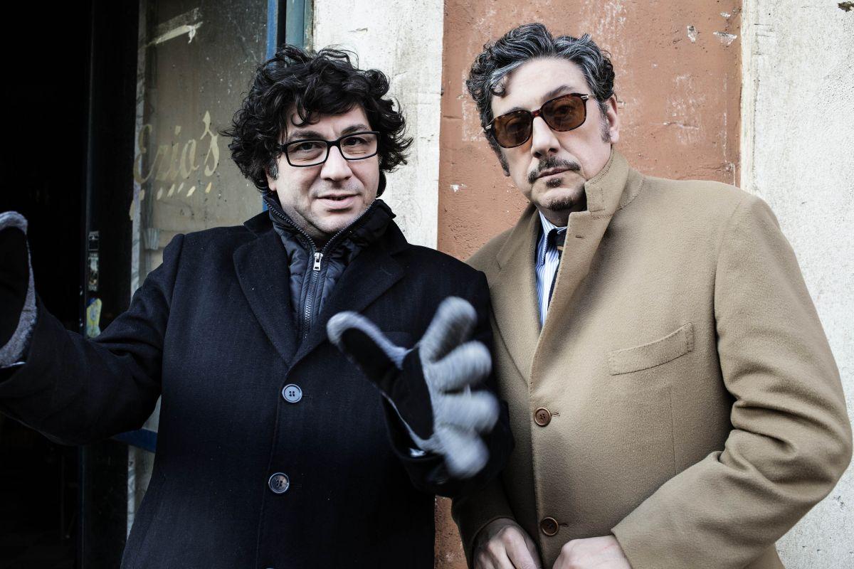 La buca: Sergio Castellitto sul set con il regista Daniele Ciprì