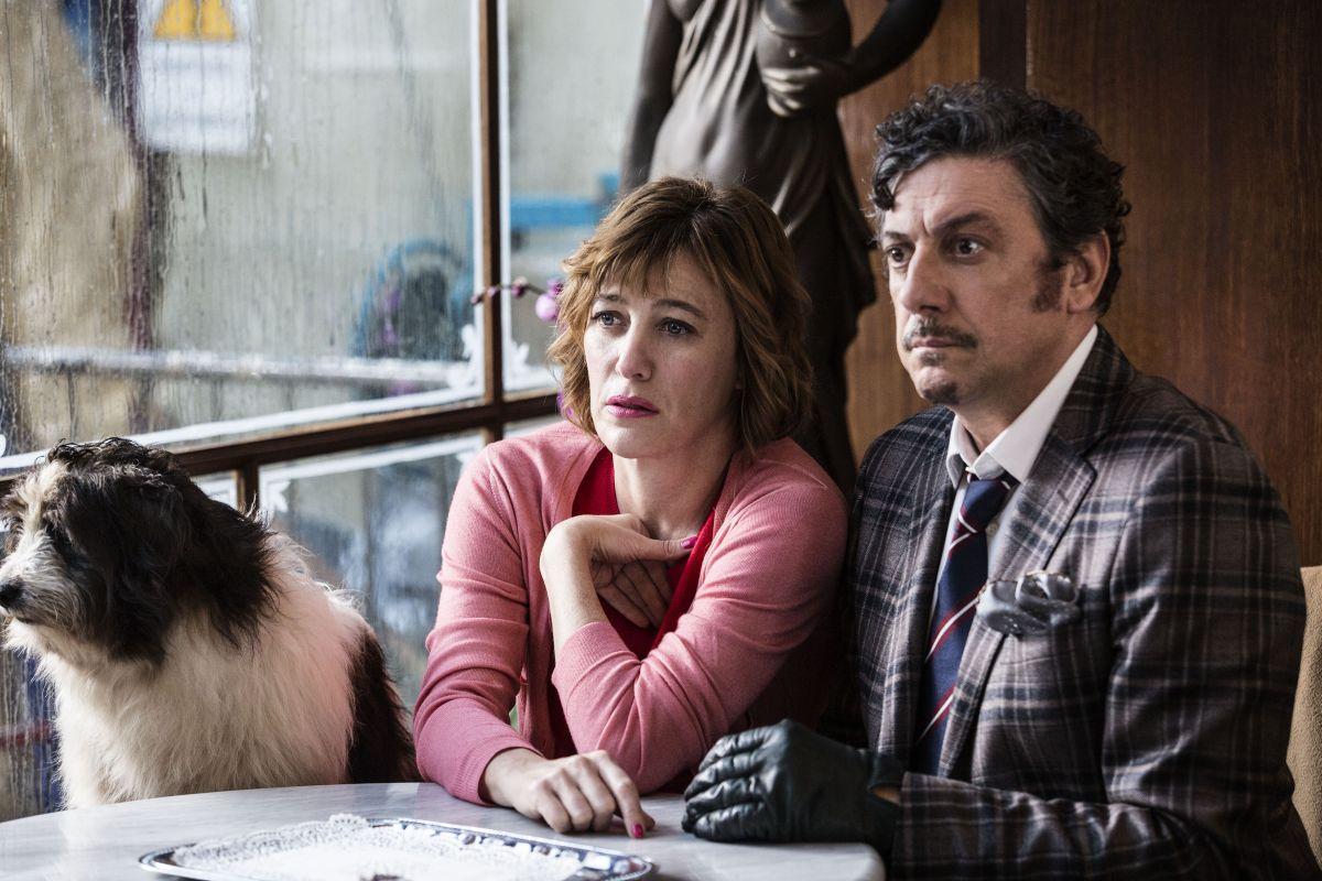 La buca: Sergio Castellitto e Valeria Bruni Tedeschi in una scena del film
