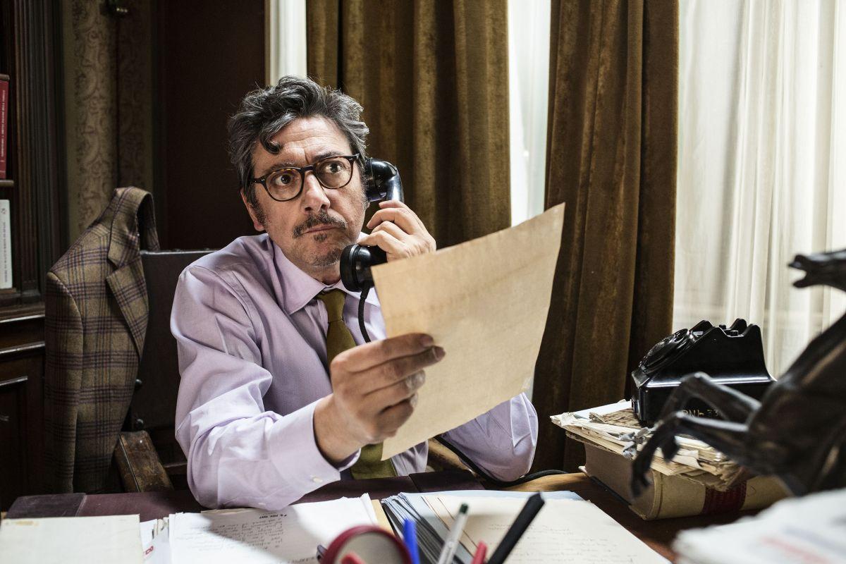 La buca: Sergio Castellitto in una scena del film