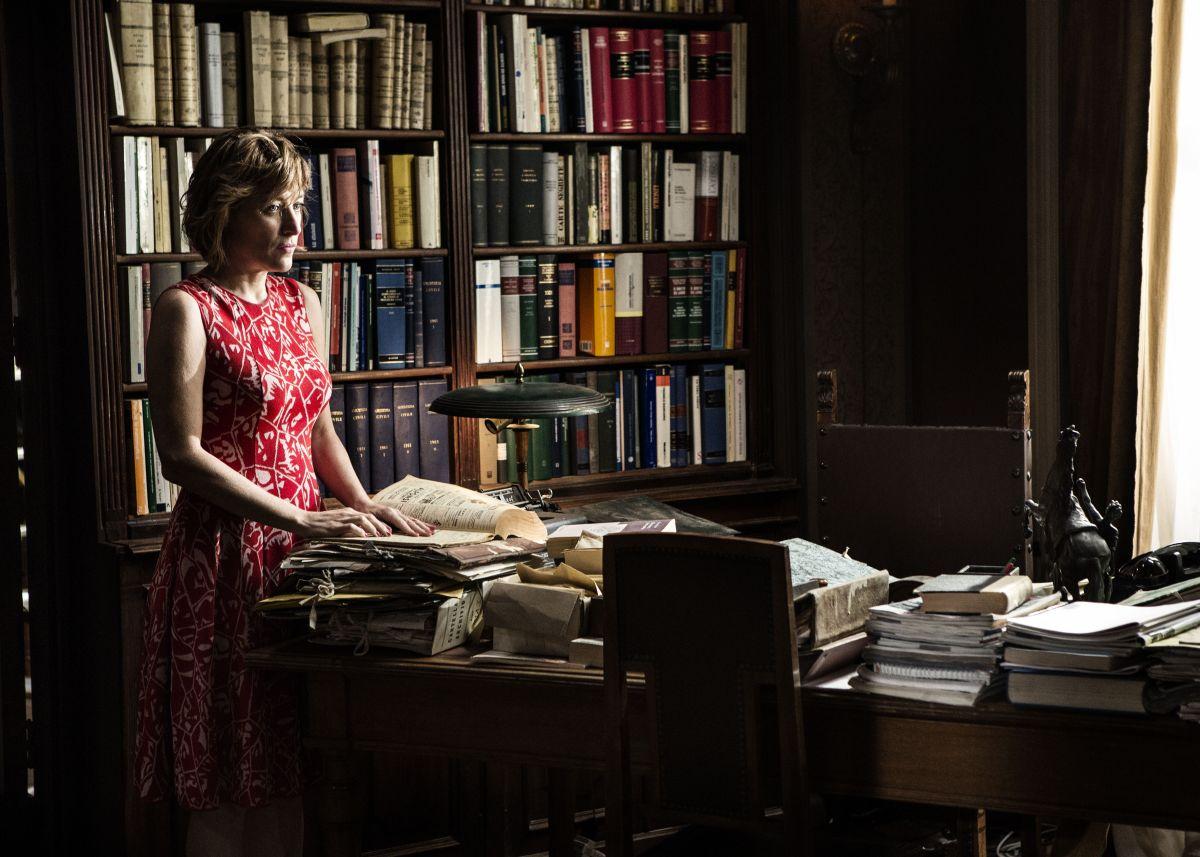 La buca: Valeria Bruni Tedeschi in una scena del film