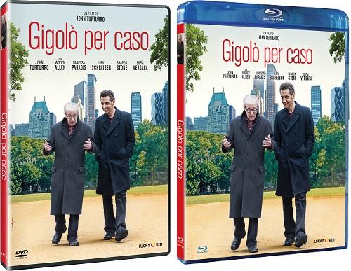 Le cover homevideo di Gigolò per caso