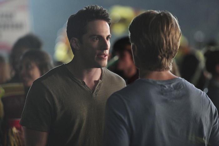 The Vampire Diaries: una scena con Michael Trevino nell'episodio I'll Remember