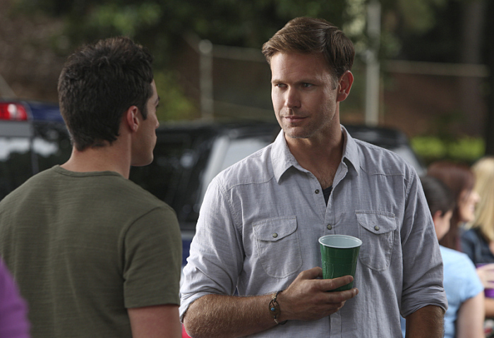 The Vampire Diaries: Matthew Davis nell'episodio I'll Remember