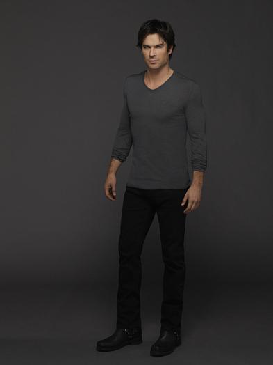 The Vampire Diaries: Ian Somerhalder in un'immagine promozionale della sesta stagione