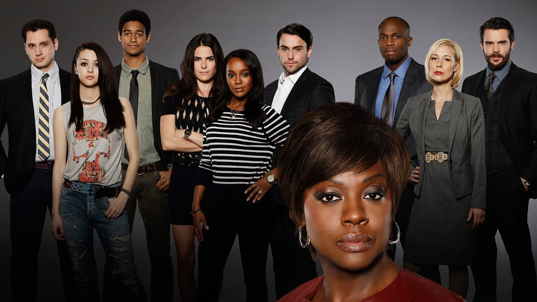How to Get Away With Murder: il cast in un'immagine promozionale