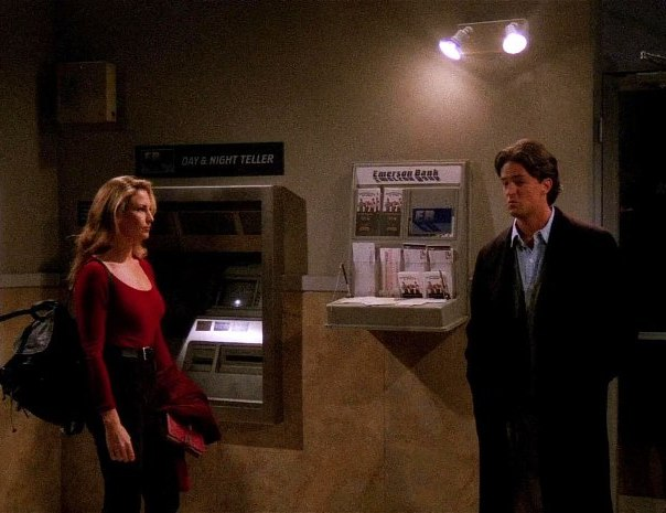 Friends: Matthew Perry nell'episodio A lume di candela