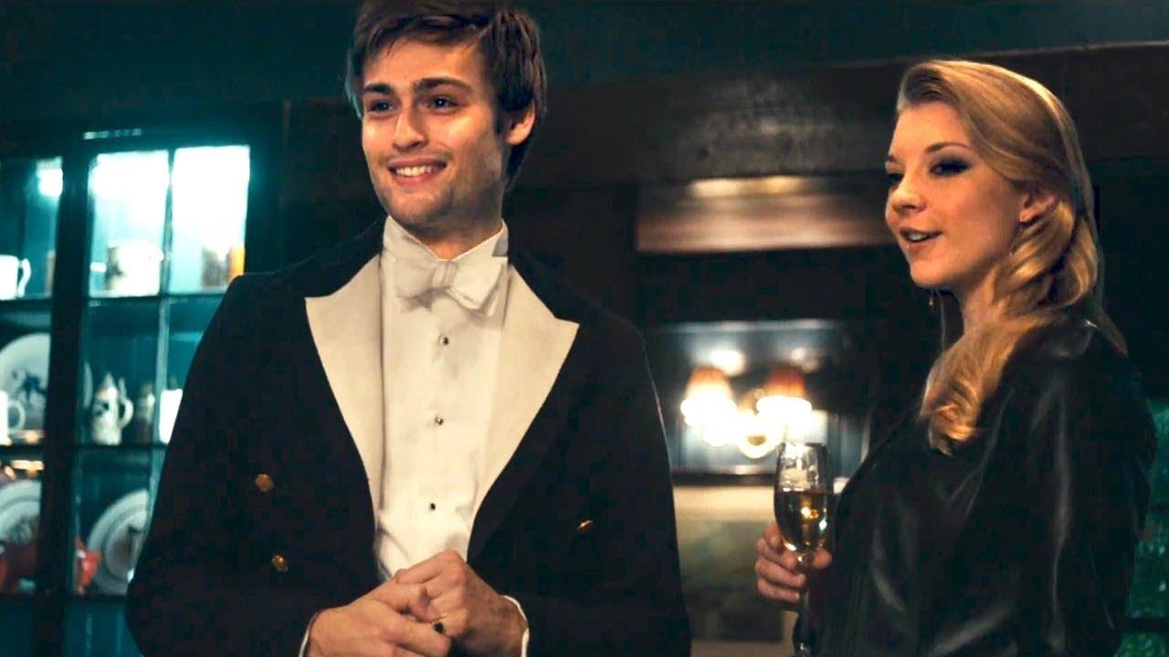 Posh: Douglas Booth con Natalie Dormer in una scena del film