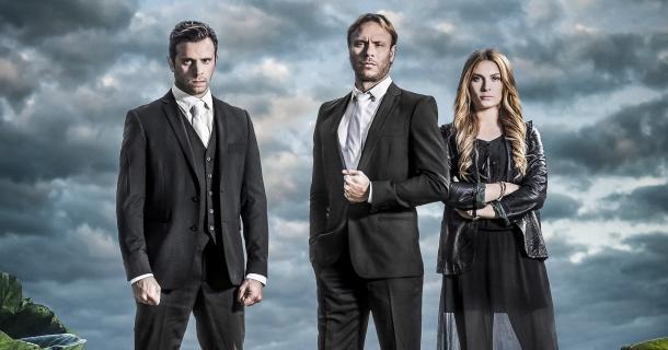 Thicker than Water: una foto promozionale del cast