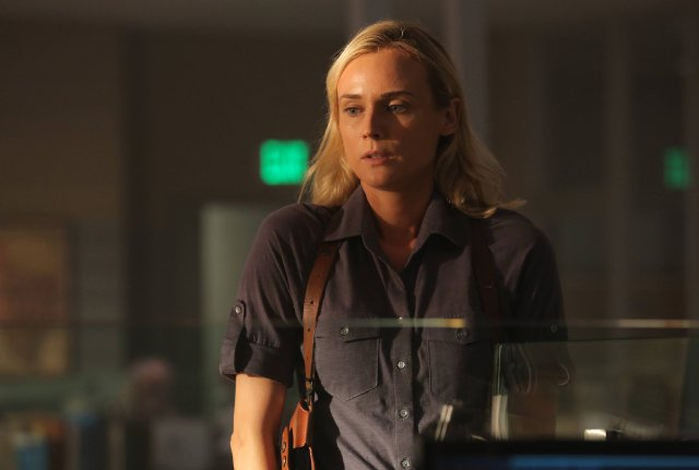 The Bridge: Diane Kruger in una scena dell'episodio Beholder