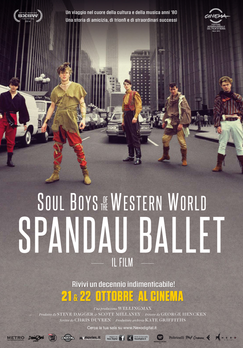 Locandina di Spandau Ballet: Il Film – Soul Boys of the Western World
