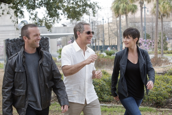 NCIS: Scott Bakula ,Lucas Black e Zoe McLellan nel doppio episodio Crescent City